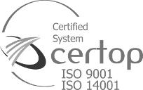 Certified System - certop ISO9001 ISO14001
